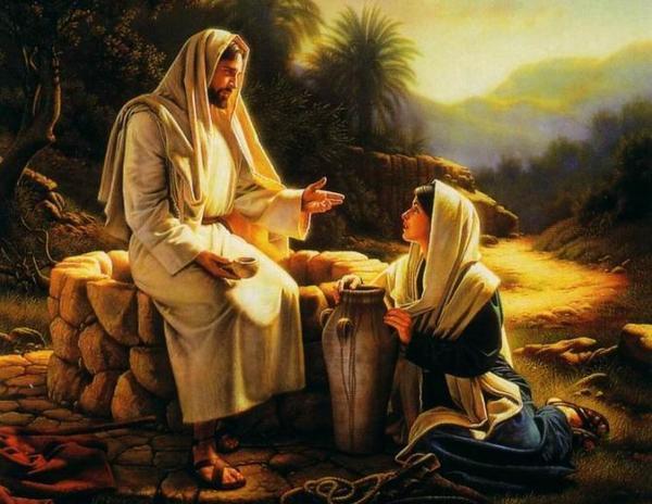 Jesùs y la mujer Samaritana
